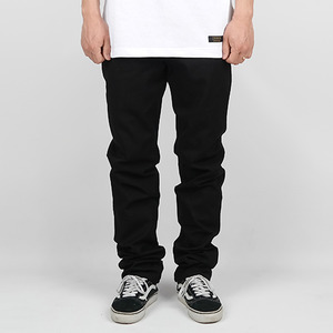 BASIC COTTON PANTS (BLACK)