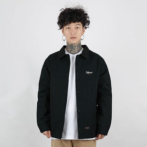 HEAVY COACH JACKET (BLACK)