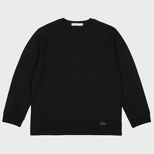 BASIC LONG SLEEVE TEE (BLACK)