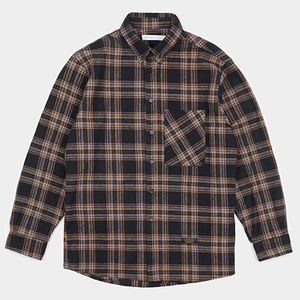 PLAID SHIRTS (BROWN)