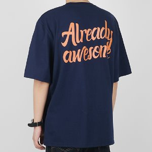 ALREADY AWESOME-VER2 (NAVY)